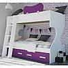 Дитяче ліжко горище ДМ 266