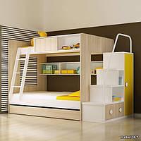 Детская кровать чердак Дм504, фото 1