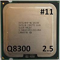 Процессор ЛОТ#11 Intel® Core™2 Quad Q8300 SLGUR 2.5GHz 4M Cache 1333 MHz FSB Socket 775 Б/У, фото 1