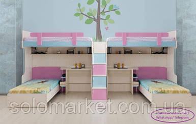 Дитяче ліжко для 4-х ДМ 2024