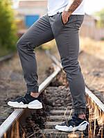 Мужские Джоггеры beZet Casual (Gray), мужские весенние штаны джогеры, серые легкие брюки