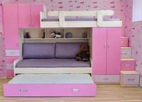 Детская кровать для троих детей ДМ 715, фото 1
