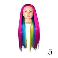 """Учебный манекен с волосами """" MIX colors"""" YRE-ЕТ 4-8  (60-65 см)"""