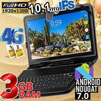 Мощный планшет - телефон с 3GB ОЗУ - MT104  - 4G IPS 10''  3/32  + Чехол-клавиатура в подарок!