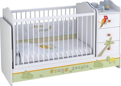 Дитячі ліжечка трансформери для новонароджених