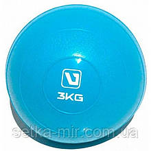 Медбол мягкий набивной LiveUp SOFT WEIGHT BALL, 3 кг