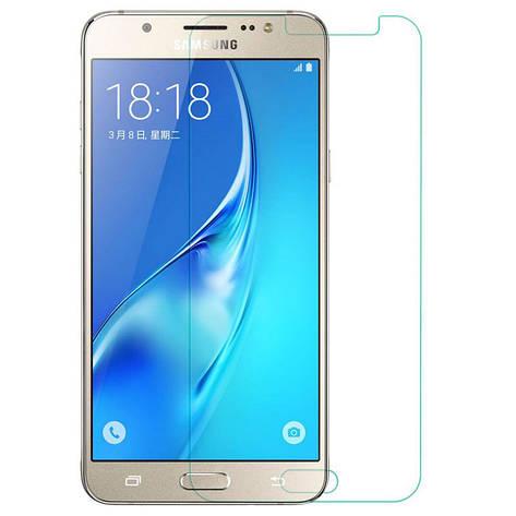 Захисне скло NZY для Samsung Galaxy j7/ j700 (2015)/ j7 Neo/ J701F (2017) 2.5D Прозоре (999635), фото 2