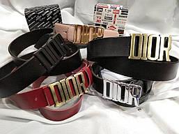 Ремень кожаный Dior (Диор)