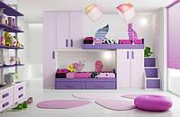 Кровать для двоих детей ДМ 717, фото 1