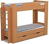 Надійна двох'ярусне ліжко для двох дітей ДМ 802