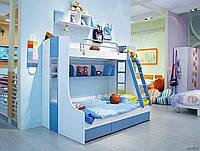 Кровать чердак для двоих детей, Н3