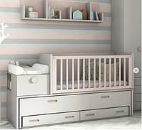 Детская кроватка-трансформер ДМ 3223