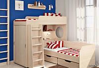 Детская кровать-чердак. Дет18, фото 1