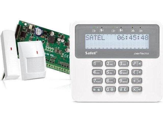 Комплект беспроводной сигнализации Satel PERFECTA BASE SET-2