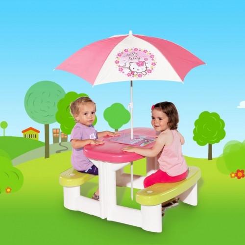 Стол Hello Kitty Пикник с зонтиком Smoby