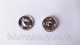 Кнопка пришивная  1 см. никель