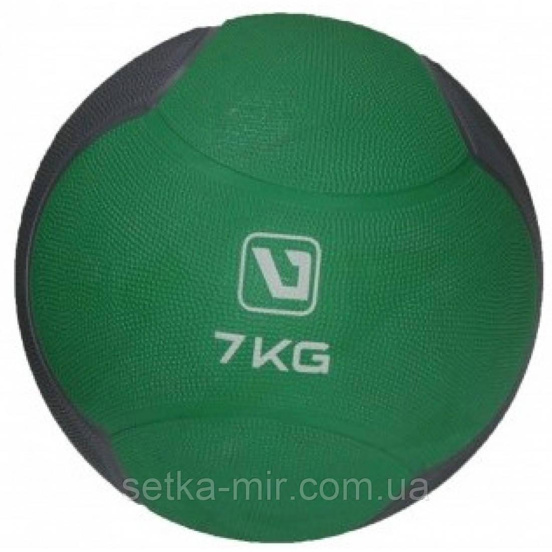 Медбол твердый LiveUp MEDICINE BALL, 7 кг