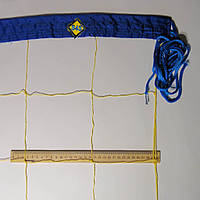 Волейбольная сетка «КАПРОН 15» цвет в ассортименте