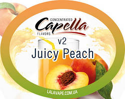 Ароматизатор Capella Juicy Peach v2 (Сочный персик v2)