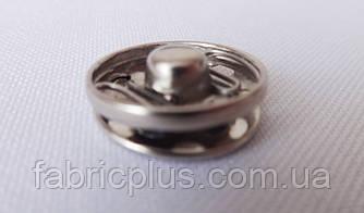 Кнопка пришивная  1.5 см. никель