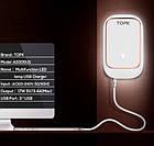 Сетевое зарядное устройство Topk на 3*USB с подсветкой. Зарядка Topk C3305 для гаджетов на 3 USB порта, фото 7