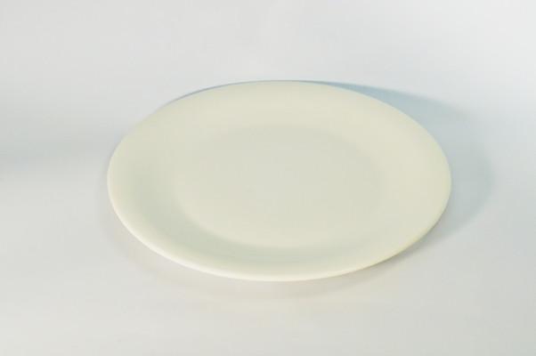 Тарелка круглая без борта из костяного фарфора диаметр 20,3 см. - НеоТандем в Виннице