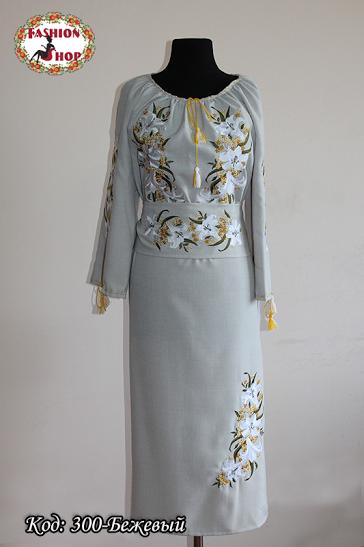 Весільні сукні вишиті купити