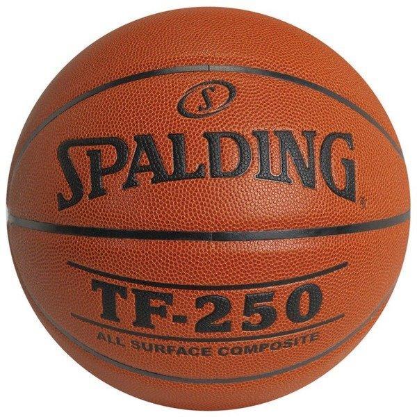 Мяч баскетбольный Spalding TF-250 Indoor/Outdoor Коричневый Размер 6 (3001504010017)