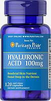 Препарат для восстановления суставов и связок Puritan's Pride Hyaluronic Acid 100 мг (120 капс)