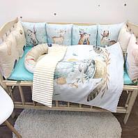 Комплект в детскую кроватку с коконом