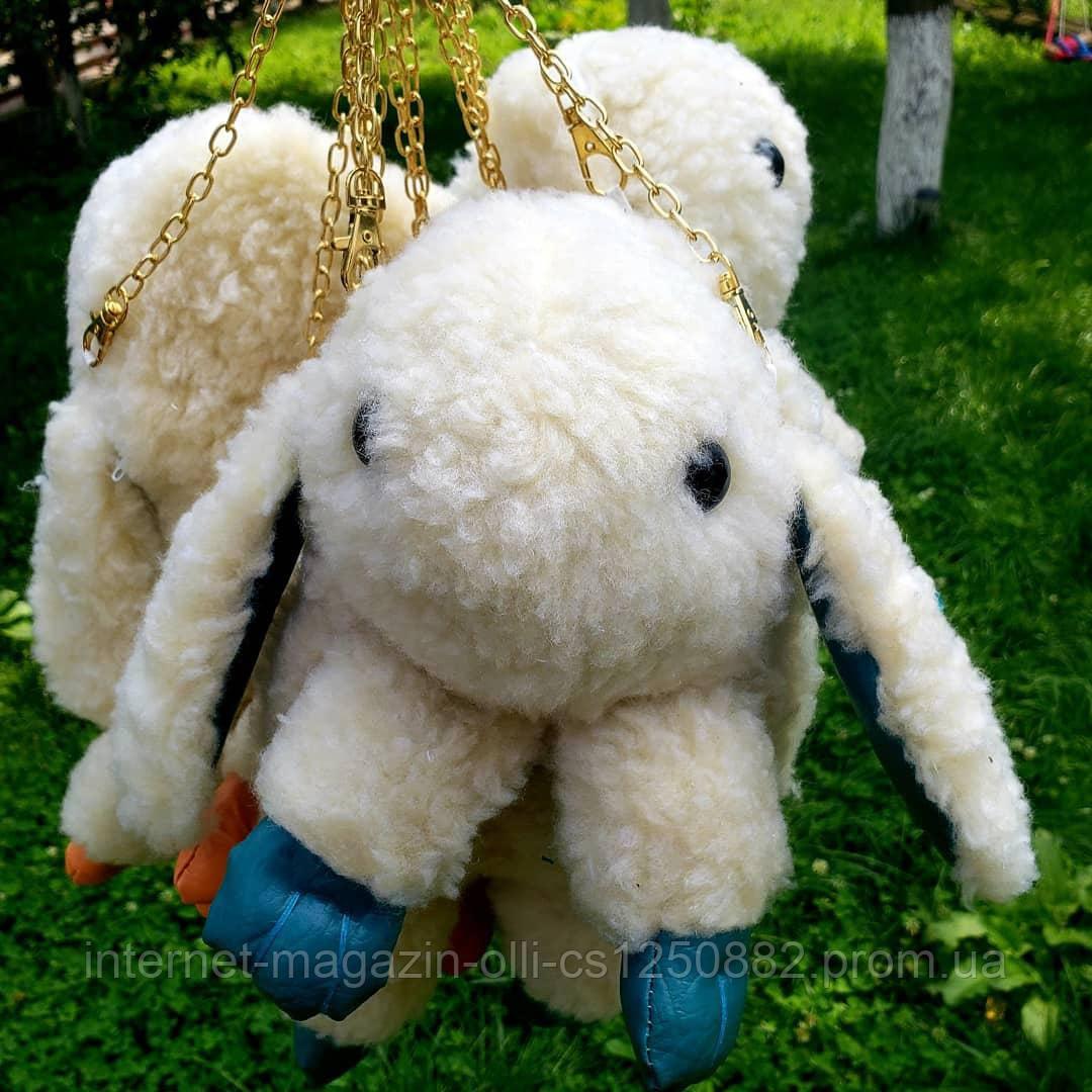 Сумка-рюкзак Кролик, желтая