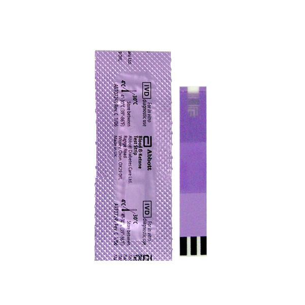 Тест-полоски для измерения кетонов FreeStyle Optium (10 шт.)