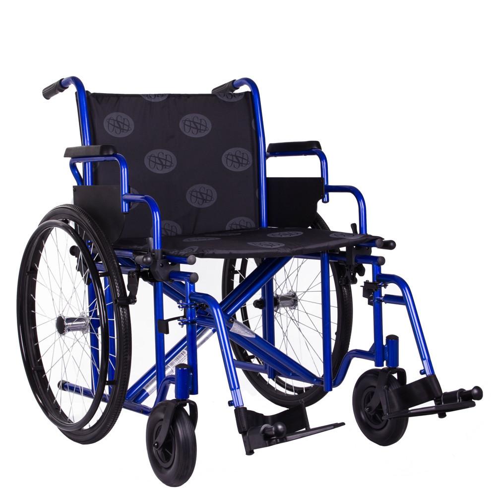 Коляска инвалидная усиленная OSD Millenium-HD (50 см). УЦЕНКА