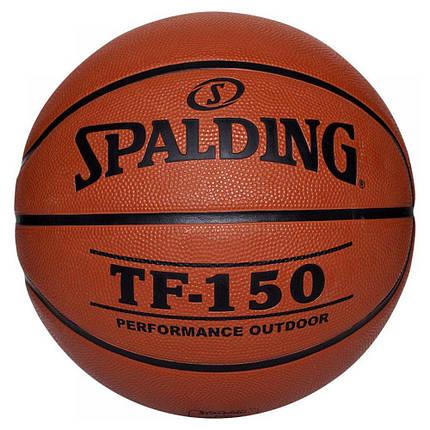 Мяч баскетбольный Spalding TF-150 Outdoor Оранжевый Размер 5 (3001507011215), фото 2