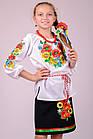 Детская вышиванка Звонкое лето (рукав 3/4), фото 3