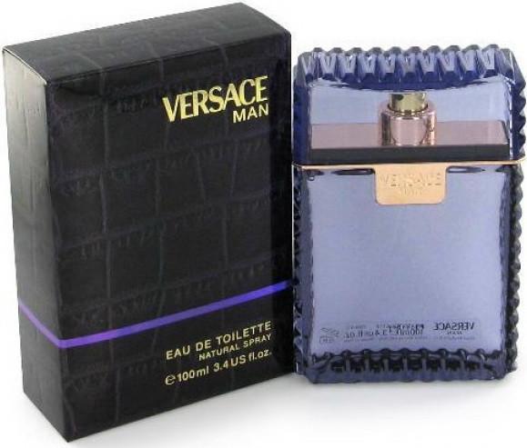 Мужская туалетная вода Versace Man (100 мл ) Фиолетовые