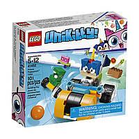 Конструктор LEGO Unikitty! Prince Puppycorn Trike Триколісний мотоцикл принца Паппікорна 101 Piece (41452)