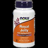 Активное долголетие NOW Royal Jelly 300 mg Eguivalency (100 капс)