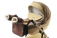 Комплект сумка и рукавички на коляску Ok Style Цветок (Коричневый), фото 1