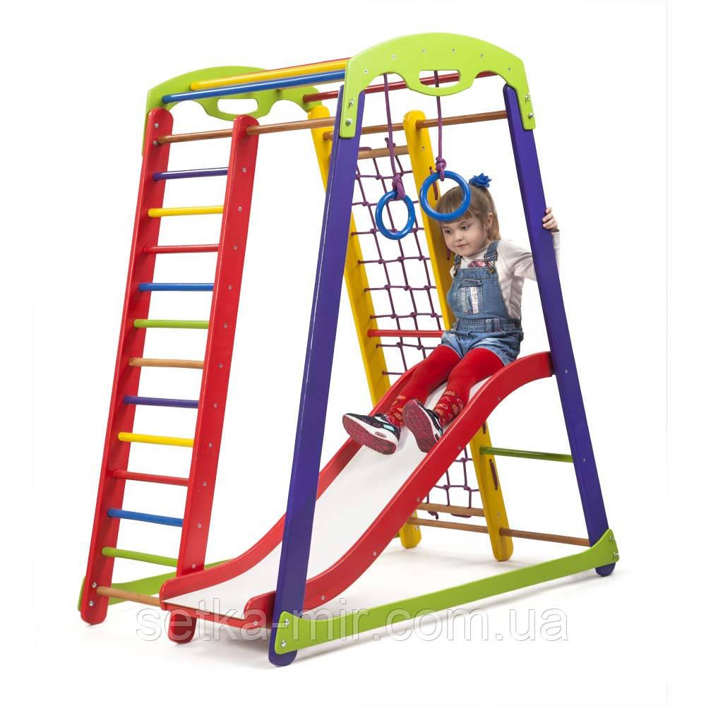Детский спортивный уголок SportBaby «Кроха - 1 Plus 1»