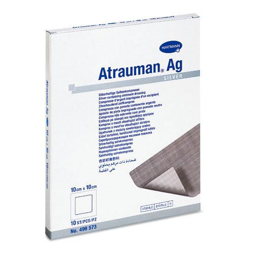 Повязка мазевая с серебром ATRAUMAN AG 10х20 см