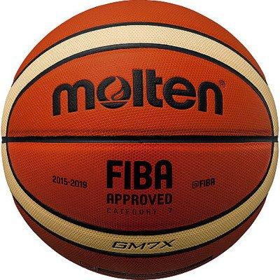 Мяч баскетбольный Molten GM7X оранжевый Размер 7 (4905741832544)