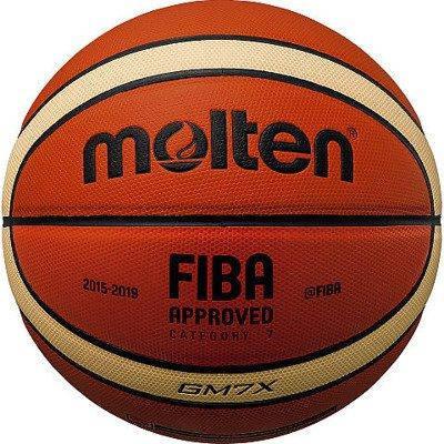 Мяч баскетбольный Molten GM7X оранжевый Размер 7 (4905741832544), фото 2