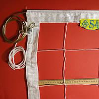Сетка для волейбола «ПРЕМИУМ 15 НОРМА» с тросом белая