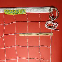 Сетка для волейбола «ПРЕМИУМ 12» с тросом белая, фото 1