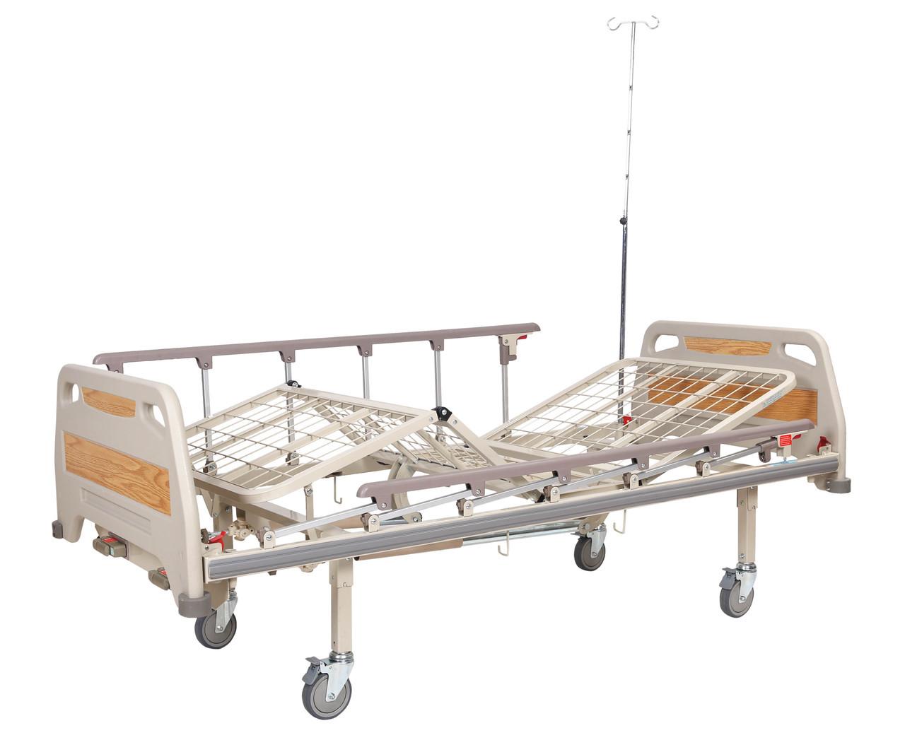 Кровать реанимационная, 4 секции