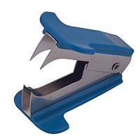 Антистеплер пластик, 5см, синий, Buromax