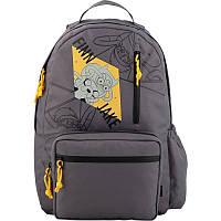 Рюкзак молодежный, спинка уплотнен., 17л, 490гр, отдел для ноутбука, Kite Adventure Time