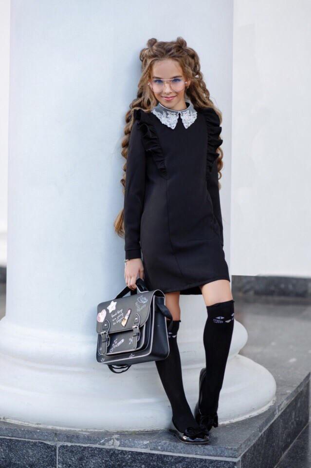 Школьное платье Дарья 2 цвета  134-152 рост