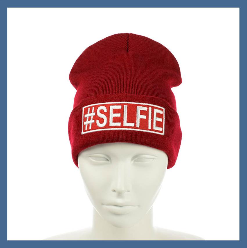 """Шапка лопата """"#Selfie"""""""